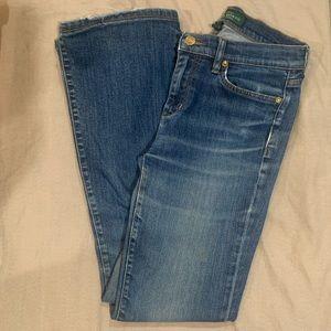 LRL Lauren Jens Co Ralph Lauren Modern Flare Jeans